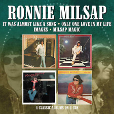 RONNIE MILSAP-IT WAS ALMOST LIKE A SONG / ONLY...-IMPORT 2 CD WITH JAPAN OBI F83