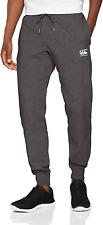 Canterbury Of New Zealand Men's Tapered Fleece Cuffpant Charcoal UK Size Medium