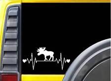 Moose Lifeline Sticker K952 8 inch decal