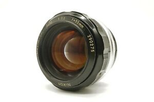 <EXCELLENT> Nikon NIKKOR-S.C auto 55mm f/1.2 lens from japan #100618