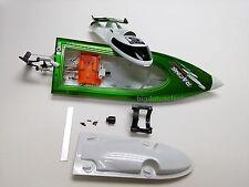 B02: 1 set 45cm(18inch) Mini RC Racing Boat Body Shell w/parts, ARTR,ft009,DIY