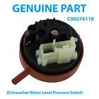 HOTPOINT-ARISTON Genuine Dishwasher Water Level Pressure Switch C00274118 photo