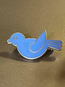 Estate Find Lovely Vintage Camp Fire Girls Blue Bird Pin 1970's