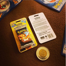 Sealed First Edition Base Set booster pack (Miniature Pokemon Replicas)