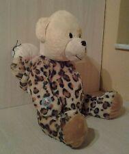 "Peek A Boo Teddy Bear Tiger Costume Plush 16"" stuffed animal with Sound"