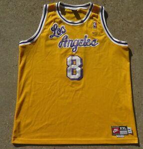 Vintage Nike Los Angeles Lakers Kobe Bryant Jersey Size XXL Men Pre Owned #8