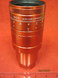 35mm ISCO Ultra Star HD Plus MC Anamorphic 72.5mm projector Lens used