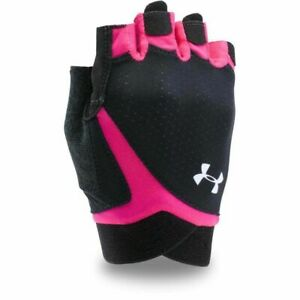 Under Armour Women's Flux Cool Switch Low Impact Training Gloves XL Black & Pink