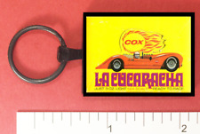 Cox La Cucaracha Slot Car Metal Key Ring