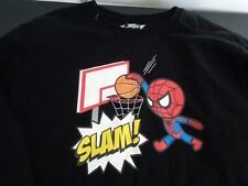 TOKIDOKI Marvel SPIDERMAN Sweatshirt SLAM! Basketball Size XL Free Shipping