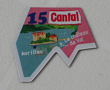 15 CANGAL MAGNET LE GAULOIS CARTE NOUVELLE COLLECTION DEPARTAIMANT