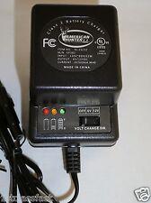 6 & 12VOLT .5A BATTERY CHARGER W LED CHARGE INDICATOR LIGHTS FOR 6V 12V CHARGING