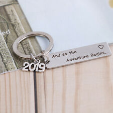 1Pc 2019 Graduation ceremony memorial gift graduate diplom keychain keyring