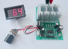 Led Digital 30A H-bridge DC 9v 12v 24v motor speed controller PWM PLC Reversible