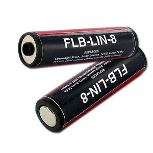ONE Battery for Streamlight Flashlight models 74331 74332 74333 75300 78540