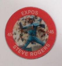 STEVE ROGERS EXPOS  7-11 SLURPEE 3-D COIN LOT OF 2