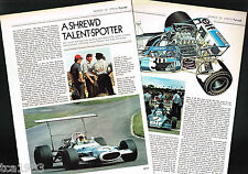 Old Ken TYRRELL Formula 1 GP F1 Article / Photos / Pictures