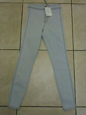"ASOS Rivington High Waist Denim Jeggings Jeans W26"" L26"" BNWT RRP £26 Light Grey"