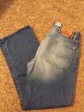 MENS VGUC DIESEL RR55 Sz 31 Classic Rise Straight Leg Distressed Jeans