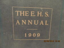 1909 Yearbook Evansville High School IN Became Central HS Rare FIRST in History