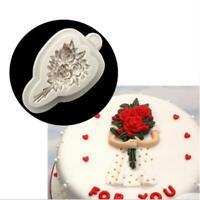 Silicone Fondant Cake Mould Soap Mold Chocolate Baking Sugarcraft Decor Tool Y