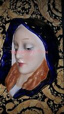 "ANTIQUE LARGE PORCELAIN GOEBEL FIGURINE OF MADONNA BUST ""HEIN"""