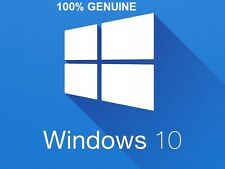 WINDOWS 10 PRO 32 /64BIT GENUINE RETAIL LICENSE KEY