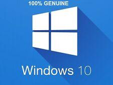Windows 10 Pro 32/64BIT Véritable Au Détail Clé de licence