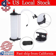 Oil Fluid Extractor 7L Manual Vacuum Fuel Petrol Pump Transfer Syphon Suction MX