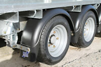 """Ifor Williams Round Mudguard with Spray Suppression - 12"""" Wheels"""