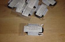 "121 EPDM O-rings, 70A Durometer, Black, 1-1/16"" ID, 1-1/4"" OD, Pack of 10"