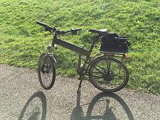 folding electric mountain bike