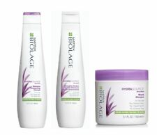 Matrix Biolage Hydrasource Shampoo Detangling Solution and Hydrasource Mask Trio