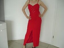 Abendkleid Gr. 38 rot Kleid von Weise cocktail w. NEU