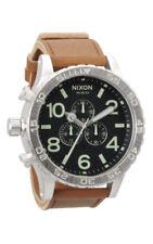 Relojes de pulsera unisex de acero inoxidable resistente al agua