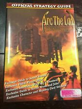 Arc the Lad Official Strategy Guide Book (Hard Cover) PlayStation PS1 Brand New