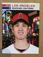 2018 Shohei Ohtani Rookie Card Los Angeles Angels Mint Condition