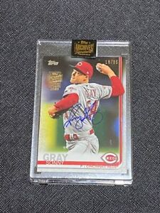 2021 Topps Archives 2019 Topps Update Series Sonny Gray SP Auto Card 16/35