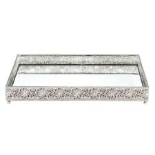 OLIVIA RIEGEL WINDSOR LARGE BEVELED MIRROR TRAY VT0001.NEW IN BOX.
