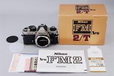 [TOP MINT in Box] Nikon New FM2T(titanium) 35mm SLR Film Camera Body from Japan