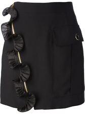 Emanuel Ungaro Ruffle Detailed Mini Skirt
