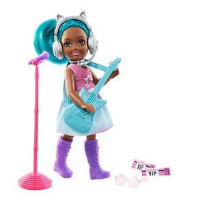 Barbie Chelsea Can Be Playset Pop Star Blue Hair GTN89