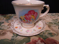 Disney Parks Exclusive Alice in Wonderland Tea Cup and Saucer-Retired