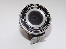 VINTAGE PHOTOGRAPHY BRAUN UNIVERSAL-SUCHER VIEWFINDER ACCESSORY FOR PAXETTE?