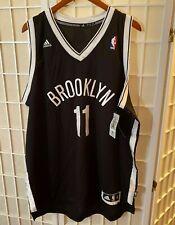 $110 KYRIE IRVING #11 Adidas Swingman Jersey Brooklyn Nets Black 7912a XL