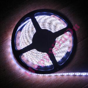 3.28ft~65.6ft Cold White 6000K LED 5050 Flexible Strips Light Lamp SMD 60leds/M