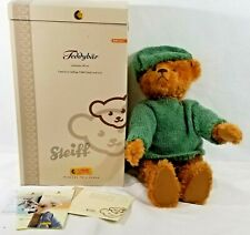 "LM VINTAGE Steiff 037054 Gold Classic Teddy Bear 22.5"" Mohair Jointed L.E. NEW"