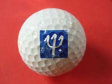 Pelota de golf con logo-tridente-golf logotipo Ball como talismán recuerdo regalo......