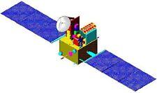 Oceansat 2 ISRO Oceanographic Satellite Handcrafted Wood Model Regular New