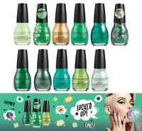 SINFUL COLORS Nail Polish LUCKED UP St Patricks Day Collection 2018 *YOU CHOOSE*